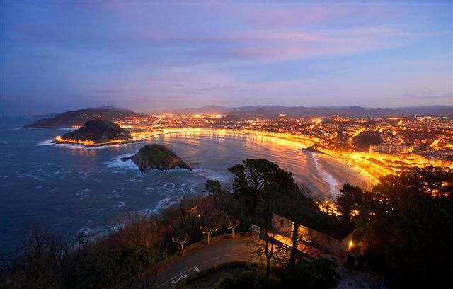 san sebastian night